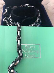 Mens pure Titanium necklace
