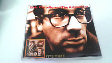 """ELVIS COSTELLO AND THE ATTRACTIONS """"IT'S TIME"""" CD SINGLE 3 TRACKS"""