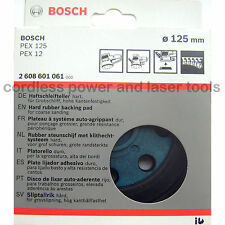 Bosch HARD Sanding Backing Pad Rubber Base Plate PEX 12 125 A AE 2 608 601 061