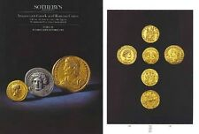 ATHENA FUND I Auction Sales Catalogue Sotheby's Important Greek Roman Coins Book
