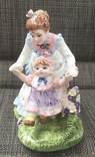 Vintage 1996 Lefton Yamada Porcelain Music Box Thank Heaven For Little Girls