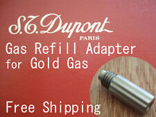 Gas Refill Adapter for Dupont Lighter Gold