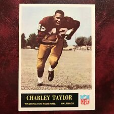 1965 Philadelphia Set CHARLEY TAYLOR ROOKIE #195 REDSKINS - EX-MINT *HIGH GRADE*