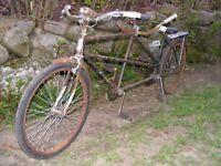 JC Higgins Tandem Bike 1959 Bicycle Antique Vintage Collectable Ridable ORIGINAL