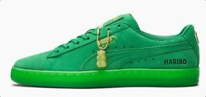 PUMA X HARIBO SUEDE CLASSIC 382565-01 Amazon Green Mens lifestyle Shoes 7-14