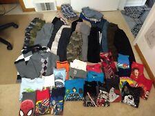 4T 5T 6T Boy's 50 Piece Clothing Lot Dress Pant Jean Short Button Shirt T-shirt