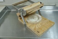 """Pie Crust Press for 9"""" pies, Bakery Pastry Dough"""