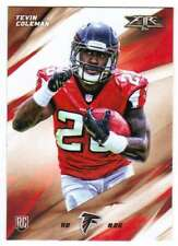2015 Topps Fire Football Rookies RC #48 Tevin Coleman Atlanta Falcons