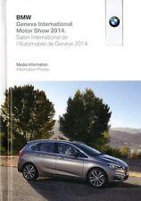 2014 BMW GENF GENEVA PRESSKIT PRESSEMAPPE MEDIA BROCHURE PROSPEKT 8GB