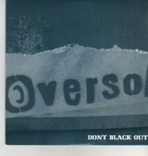 (AD357) Oversol, Don't Black Out - DJ CD