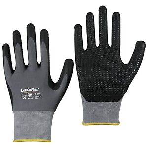 6 Paar LeiKaFlex plus Noppen 1467 Montagehandschuhe Handschuhe Arbeitshandschuhe