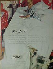 """1945 Pacific Sheets""""Yank Attack"""" Dog Pup(Gannam)Art AD"""