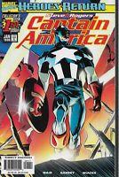 Steve Rogers Captain America #1 Heroes Return Marvel Comics Jan 1998