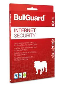 BullGuard Internet Security 2021 3 Geräte 1 Jahr - Internetsicherheit - Download