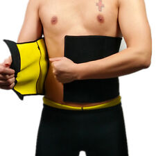 Hot Abs Men's Compression Body Shaper Belt Waist Trimmer Slim Tummy Fat loss