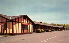 HOWES CAVE, NY New York   THE  HOWE CAVERNS MOTEL   Roadside Chrome Postcard