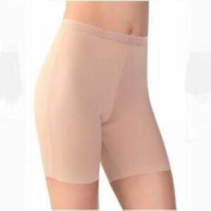 Vassarette Women's Smoothing Slip Short 12674 Honey Beige 5/S New w/o Tags
