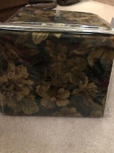 New Ralph Lauren Edgefield full flat floral sheet
