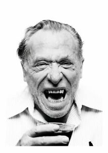 Charles Bukowski American Beatnik Beat Hip Hippy Writer Unisex Tshirt T-Shirt
