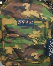 JanSport Backpack Camo Brand New