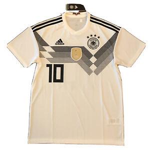 2018/19 Germany Home Jersey #10 Ozil Medium World Cup Soccer Deutschland NEW