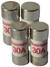 30 Amp Consumer Unit Cartridge Fuse 4 Pack 30A Cooper Bussmann BS1361 Fuse Box