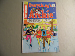 Everything's Archie #32 (Archie Comics 1974) Free Domestic Shipping