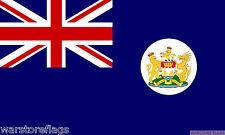 HONG KONG BRITISH FLAG 3X2 FEET Blue ensign coat of arms BRITAIN 1959-1997 UK