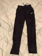 Nike Wind Pants Running Youth Sz L Zippered leg Lined Polyester