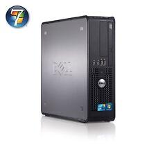 Windows 7 Dell Dual Core/AMD Desktop Tower PC Computer - 4GB RAM - 250GB HDD