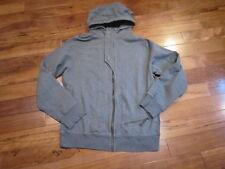 Lululemon mens deep cove 11 hoodie jacket coat in grey size L