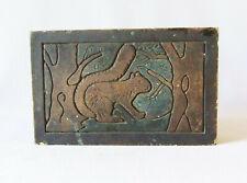 Stark Brick & Tile Squirrel Architectural Ceramic Antique Batchelder Era