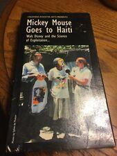 Mickey Mouse Goes To Haiti VHS Walt Disney & The Science Of Exploitation