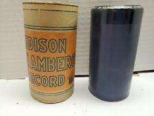 "Edison Blue Amberol Cylinder Record #3813 ""In Heavenly Love Abiding"" (BIN #94)"