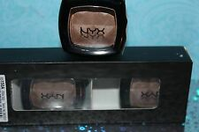 Lot of 3 NYX Single Eyeshadow ES150A UTOPIA GOLD SEALED,FULL SIZE + LIP LINER
