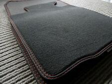 $$$ Original Lengenfelder Fußmatten passend für Mini Paceman R61 + Naht ORANGE