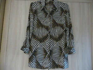 LADIES LONG OVER BLOUSE SIZE 12