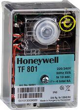 Steuergerät Satronic TF 801 Buderus BDE BRE Giersch Honeywell Feuerungsautomat