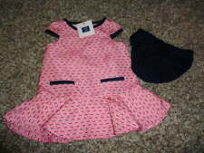 NWT NEW JANIE AND JACK 3-6 PINK DRESS CARIBBEAN ROSE