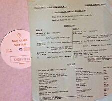RADIO SHOW: DICK CLARK GOLD 321 0CT '76! ABBA, CHICAGO, ORLEANS,GORDON LIGHTFOOT