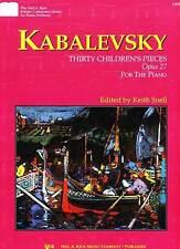 Kabalevsky 30 Children's Pieces Op.27