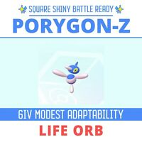 💥Ultra Shiny 6IV Porygon-Z💥 Adaptability Battle Ready Pokemon Sword and Shield