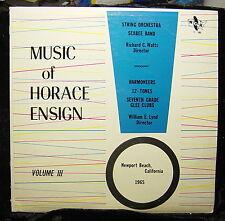 Horace Ensign Intermediate School-Newport Beach (1965) VOLUME III