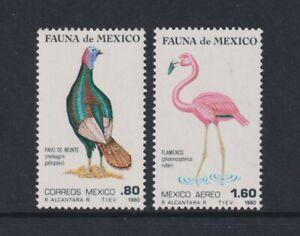 Mexico - 1980, Mexican Fauna, Birds, 2nd series set - MNH - SG 1548/9