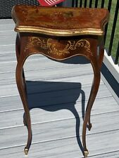 Antique French Louis XVI-Style Wood Side Table