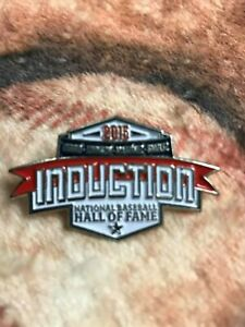 2015 Baseball Hall of Fame Induction Pin-Biggio- Pedro Martinez- Smoltz- Johnson