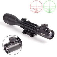 New Black 4-16x50 EG G/R Telescopic Optic Rifle Scope Sight Professional Hunting