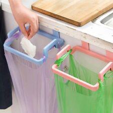 Kitchen Rubbish Garbage Bag Holder Stand Rack Trash Hanging Organizer Storage