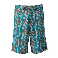 3c19d3fa0aa9 Notion Clothing Boardshorts Digi Digital Camo Blue White Grey Surf Swim  Size 32