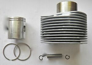 VESPA PX/ LML 200cc ALLOY CYLINDER KIT 66.5mm & 1.5mm RINGS - SCOOTERING WORLD